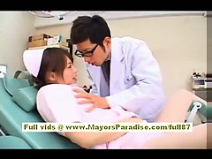 Akiho Yoshizawa Magnificent Chinese nurse   the doctor