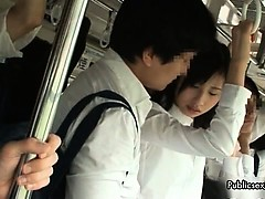 Super-sexy chinese honey gets her figure kneaded part6