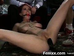 Domme In Extraordinary Caning And
