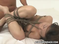 Japanese honey corded and deeply pummeled