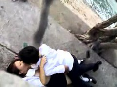 oops! Her boyfriend is pounded by by university